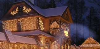 В  поместье белорусского Деда Мороза зажглись новогодние огни