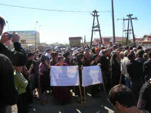 На митинге в Ингушетии задержаны журналисты
