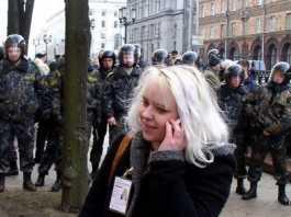 В Польше едва не зарезали белорусскую журналистку