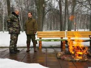 Лукашенко встретился с Медведевым