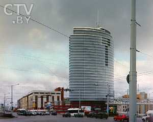 Первый в Беларуси жилой небоскреб будет в форме паруса (фото)