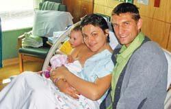 У Максима Мирного родилась вторая дочка