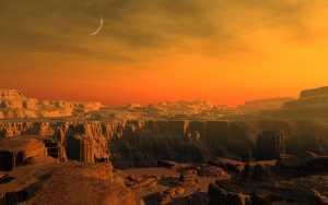 На Марсе могла существовать жизнь