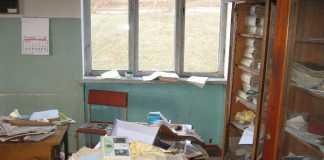 Школу разграбили за два месяца