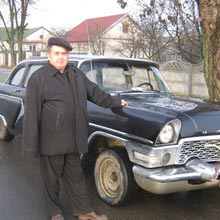 """Интервью с владельцем ГАЗ-13 """"Чайка"""""""