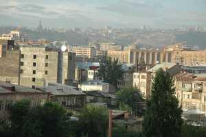 Пожар стёр с лица земли здание минюста Армении