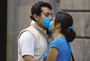 Европейцам советуют не целоваться