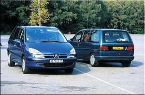 Peugeot 807 и Citroen C8: равнозначный выбор