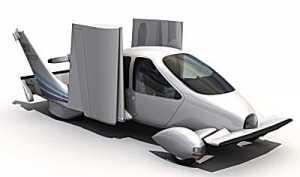 Создан автомобиль-самолёт