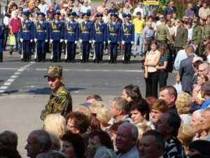 В Барановичах похоронили лётчиков СУ-27
