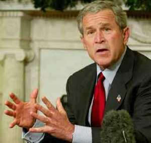 В США вышел календарь для ненавистников Джорджа Буша