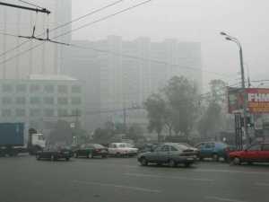 Москва напоминает зону экологического бедствия