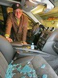 В Минске ограбили машину Мирных