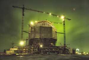 За Национальную библиотеку со строителями так и не рассчитались