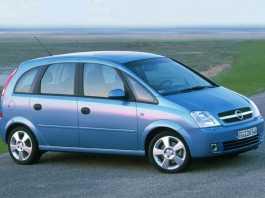 Meriva - третий УПВ Opel