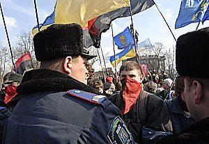 В Киеве милиция работает в усиленном режиме