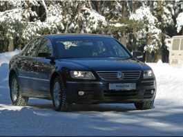 Volkswagen Phaeton: перейти Рубикон