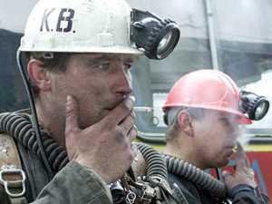 В Украине горят шахты